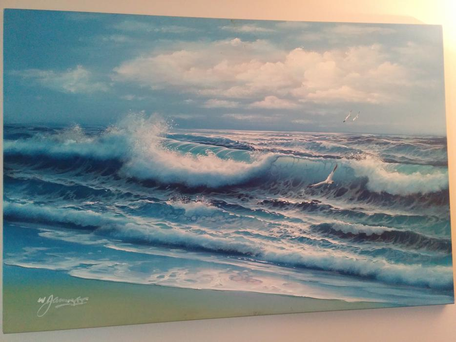 Oil painted central nanaimo parksville qualicum beach for 5334 seascape terrace nanaimo