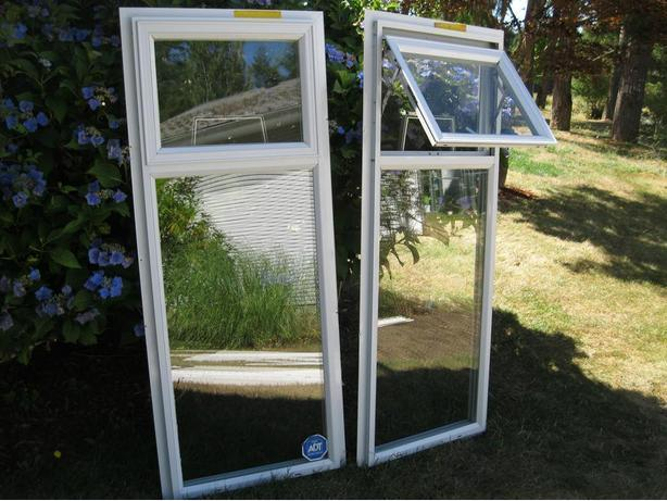 Two Aluminum windows - used