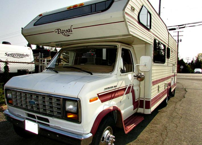 1985 glendale royal classic 26 class c motorhome stk for Royal motors houston tx
