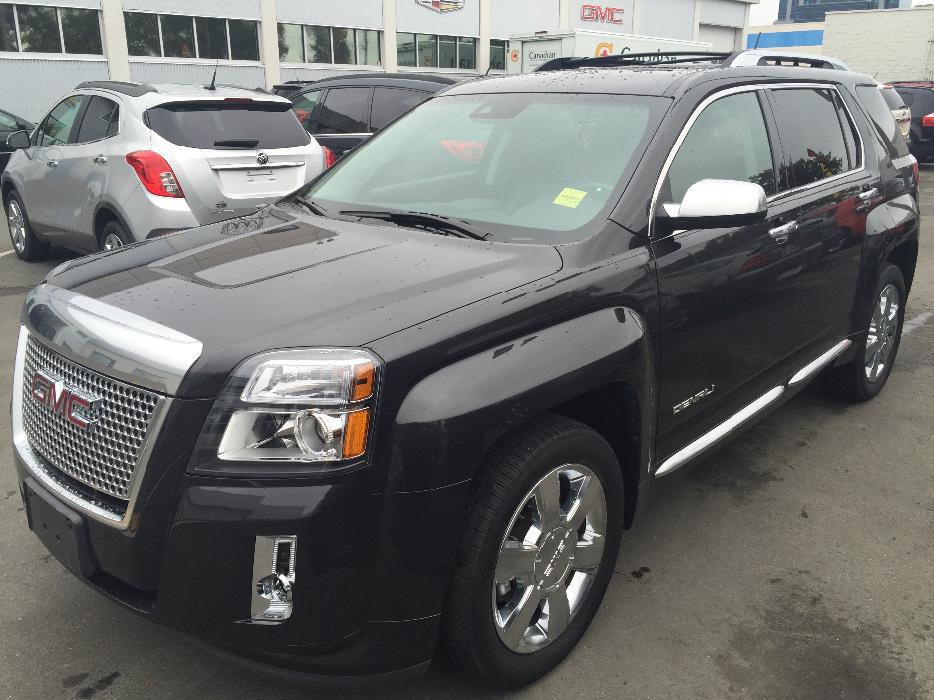 2013 gmc terrain denali outside nanaimo nanaimo. Black Bedroom Furniture Sets. Home Design Ideas