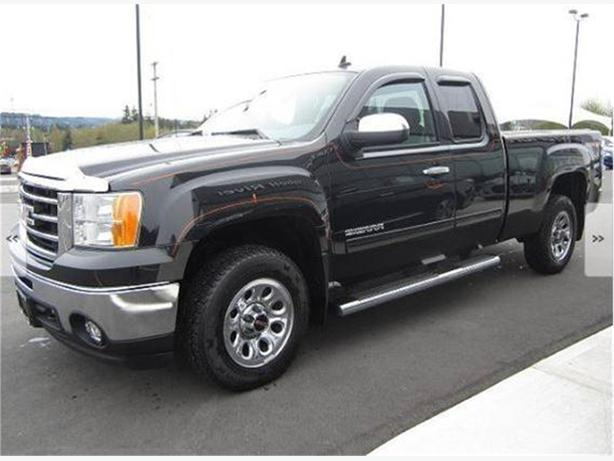 2012 gmc sierra 1500 sle ext cab standard box 4wd outside comox valley courtenay comox. Black Bedroom Furniture Sets. Home Design Ideas