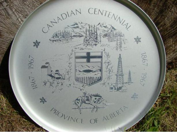 Province of Alberta Canadian Centennial  1867 – 1967