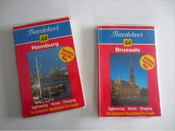New Baedeker's Hamburg & Brussels Travel Guides