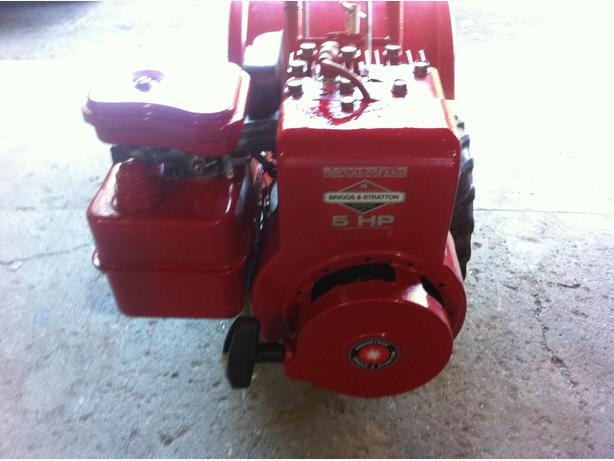 BRIGGS & STRATTON 5HP 130292 ENGINE, LOW USE, CLEAN & RUNS GREAT!