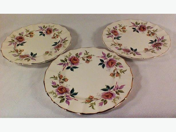 Empire Debutante side plates