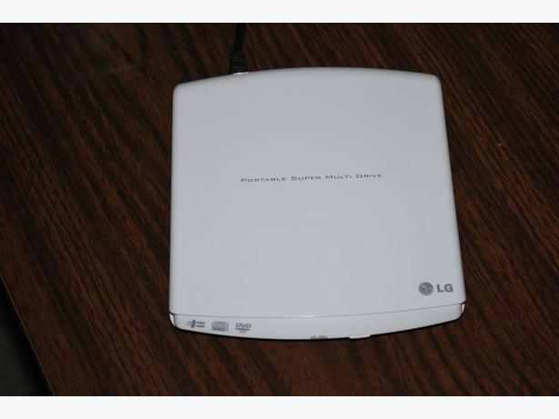 Portable DVD CD drive burner - LG Super Multi Drive