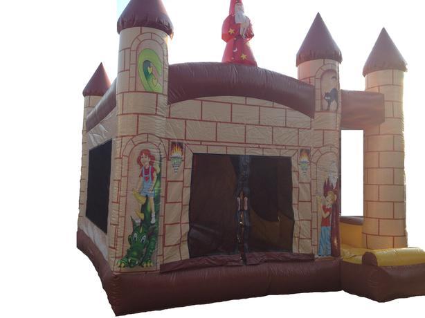 Four Hour Rental!  The Wizard's Castle XL Bouncer & Slide