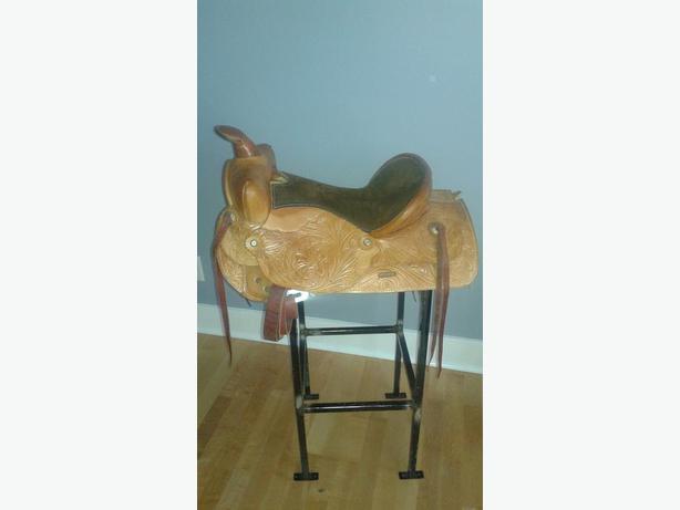 Western Rawhide Saddle