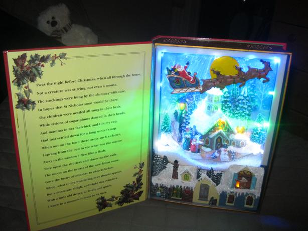 Light-Up Musical Christmas Book