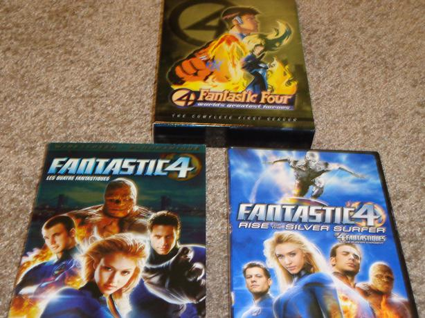 Fantastic Four Collection on DVD