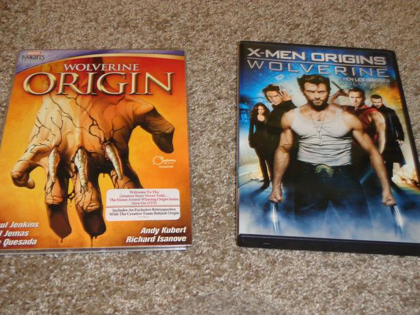 Wolverine on DVDs
