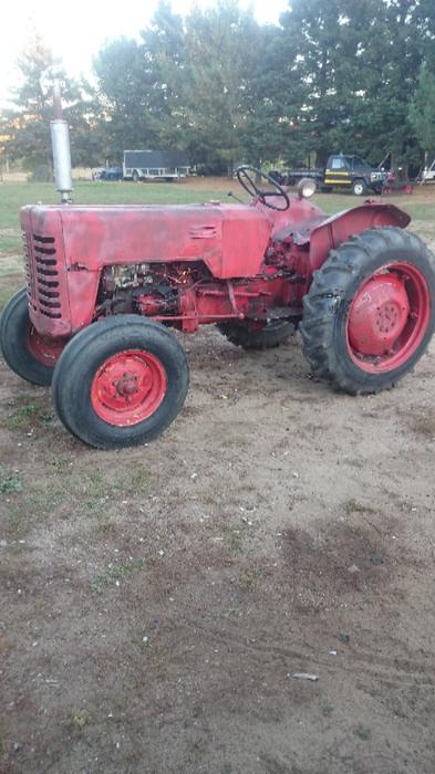 1958 International Tractor : International b tractor outside sault ste marie