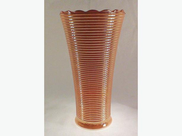 Anchor Hocking Manhattan lustre vase