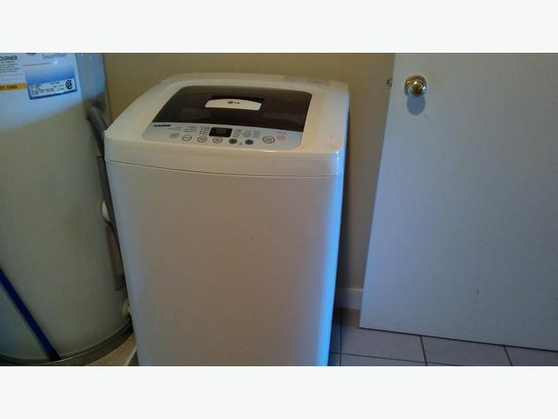 apartment size automatic washer outside comox valley campbell river