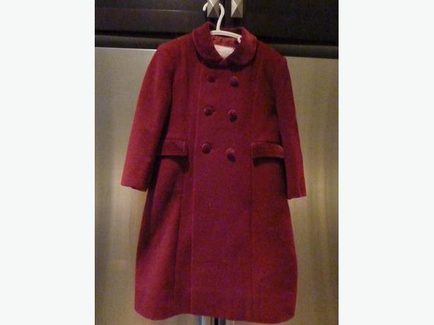 Girls dressy winter coat size 4