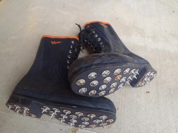 viking forester caulk boots sz 11 mens port alberni ucluelet