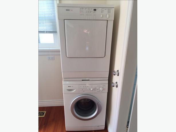 Bosch Axxis stackable washer amp dryer Oak Bay Victoria