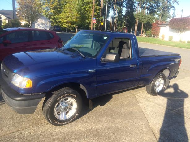 mazda b2300 pick up truck very clean central nanaimo nanaimo. Black Bedroom Furniture Sets. Home Design Ideas