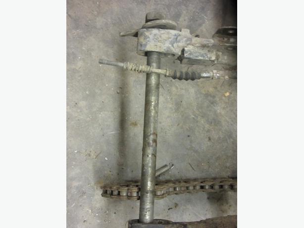 Can Am TNT 175 rear axle