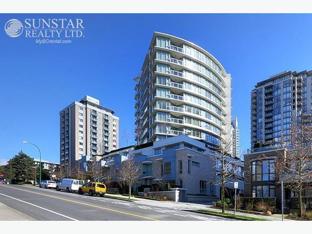 Lonsdale Trendy Fully Furnished 1 Bed Condo w/ Water View @ VENTANA (505)