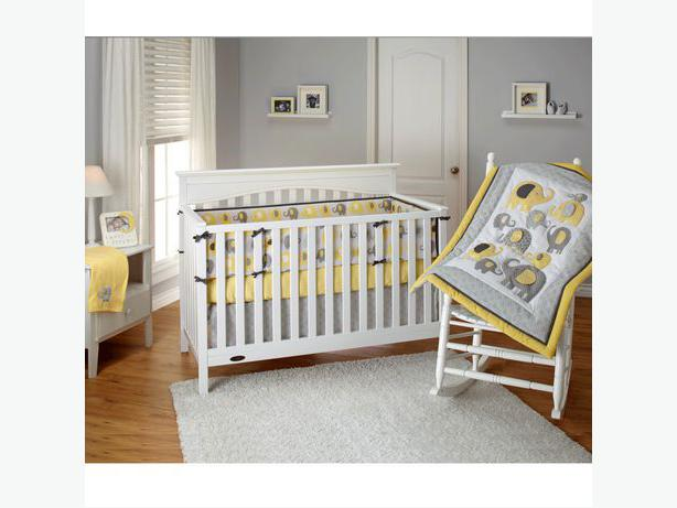 Florence Convertible Crib N Changer Combo Saanich