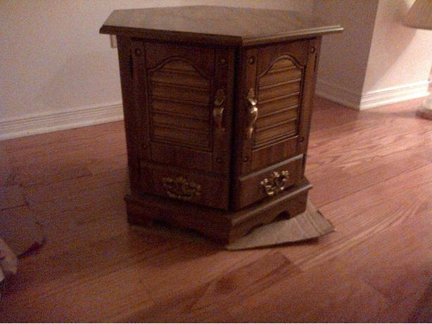 2 End Tables with Storage Space