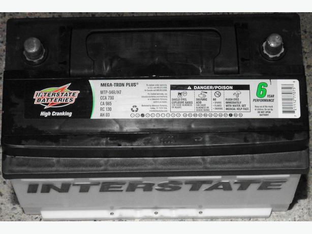 Interstate Megatron 2 >> Interstate Batteries MTP-94R/H7 Saanich, Victoria