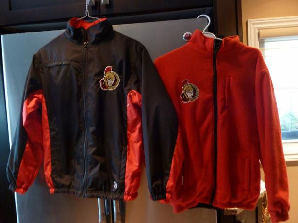NHL Ottawa Senators REVERSIBLE Jacket