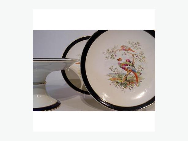 Royal Doulton Pheasant Cake Set