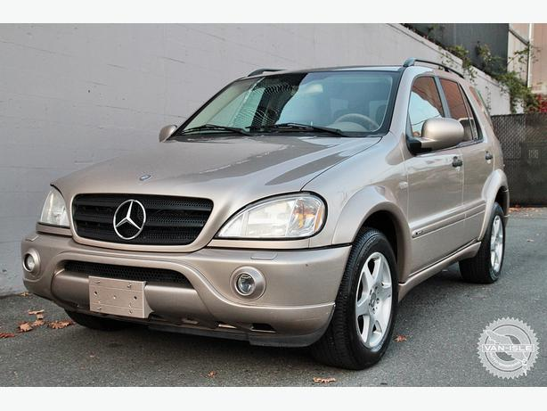 2001 mercedes benz ml320 outside cowichan valley cowichan for 2001 mercedes benz m class ml320