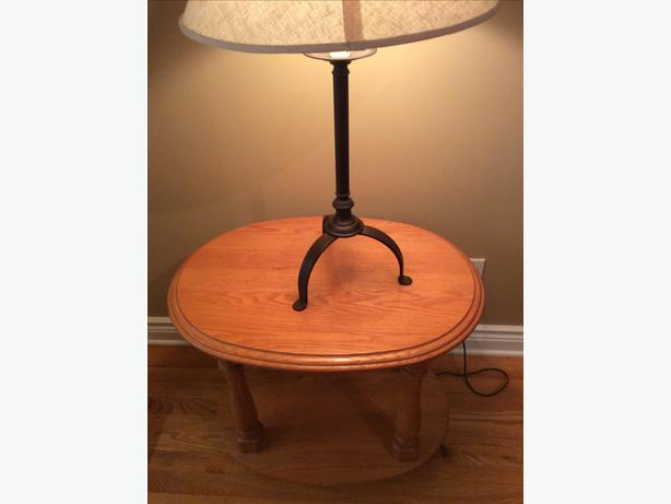 Solid Oak Coffee And End Tables Cumberland Ottawa