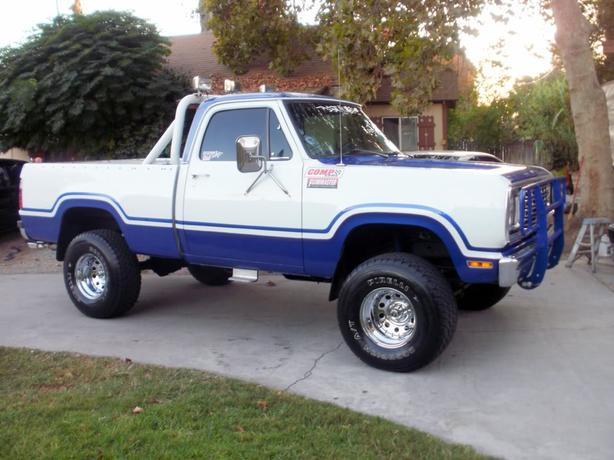 "WANTED: ""81-""93 Dodge 2 or 4wd project truck."