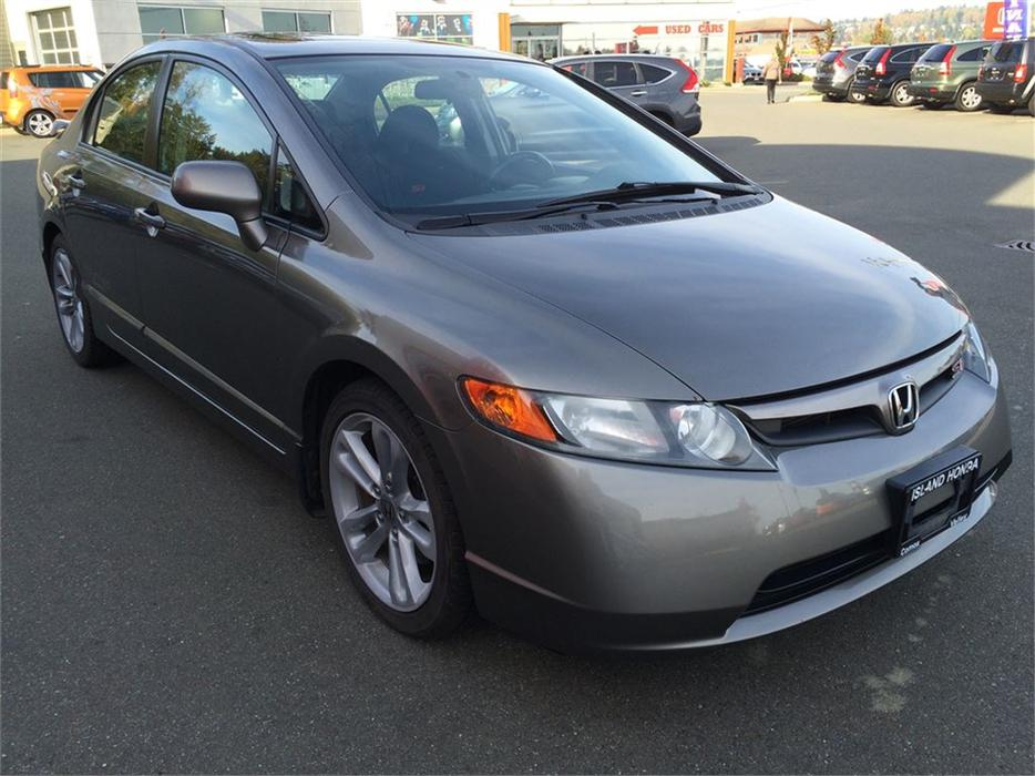 2008 honda civic si 6 speed manual 2 0l courtenay. Black Bedroom Furniture Sets. Home Design Ideas