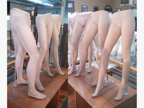 JAMBES DE MANNEQUIN ~ MANNEQUIN LEGS