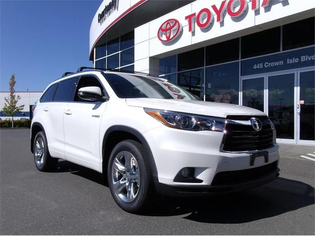 2015 toyota highlander hybrid courtenay courtenay comox. Black Bedroom Furniture Sets. Home Design Ideas