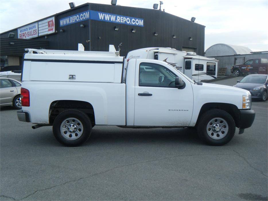 2010 Chevrolet Silverado 1500 Regular Cab Short Box With