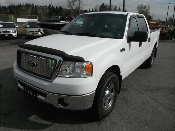 2008 ford f 150 xlt crew cab short box 4wd outside comox valley courtenay comox. Black Bedroom Furniture Sets. Home Design Ideas