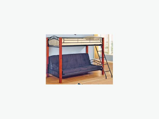 Bunk Bed With Fold Out Futon Couch Comox Courtenay Comox