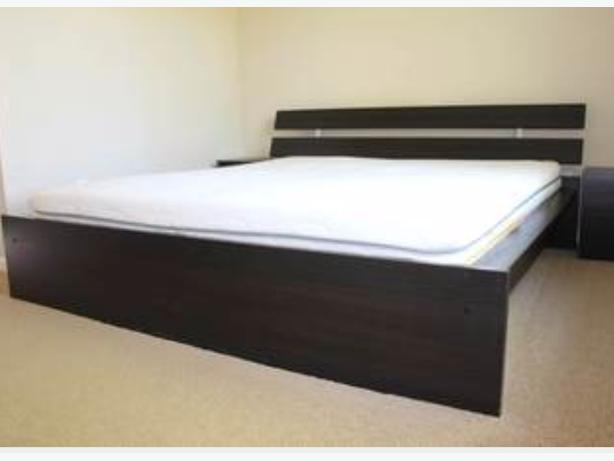 ikea hopen queen bed frame oak bay, victoria