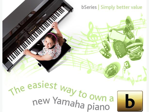 "Brand New Affordable Yamaha ""b Series"" Pianos Now Available"