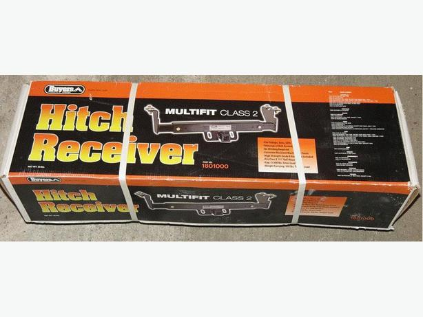 Buyers Multifit Class 2 Hitch Receiver
