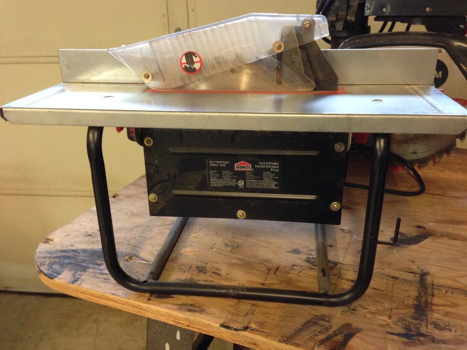 Jobmate 8 1 4 Portable Table Saw Nanoose Bay Nanaimo