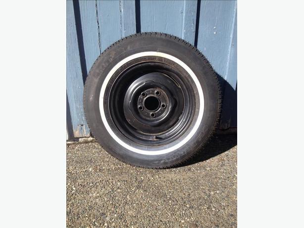 Spare Trailer Tire