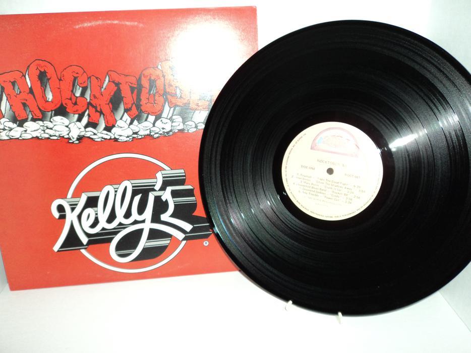 Rocktober 81 Kelly S Records Lps Vinyl Victoria