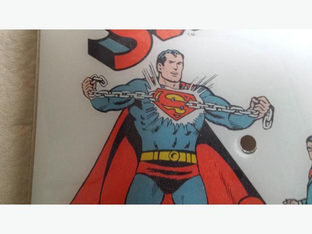 Collector 1978 DC Comics Original Superman Lamp Shade