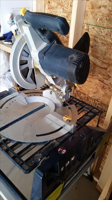Mastercraft Table Saw Mitre Saw Combo W Saw Horse Work