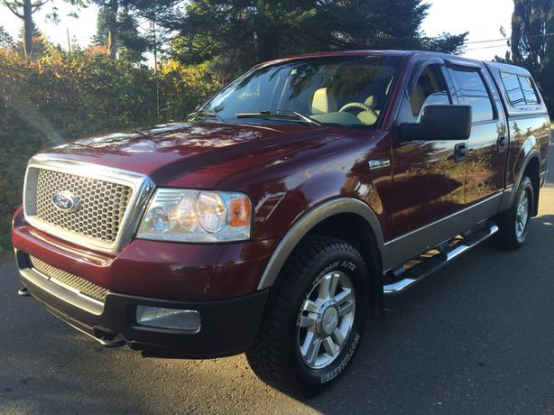 2004 ford f 150 4x4 lariat 5 4 triton courtenay courtenay. Black Bedroom Furniture Sets. Home Design Ideas