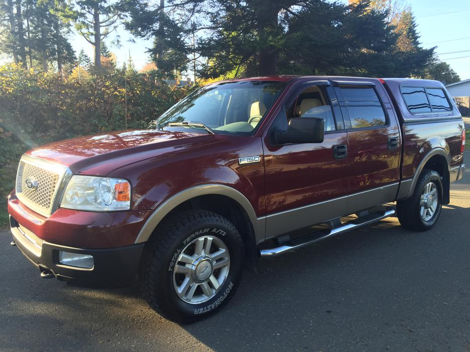 2004 ford f 150 4x4 lariat 5 4 triton courtenay comox valley mobile. Black Bedroom Furniture Sets. Home Design Ideas