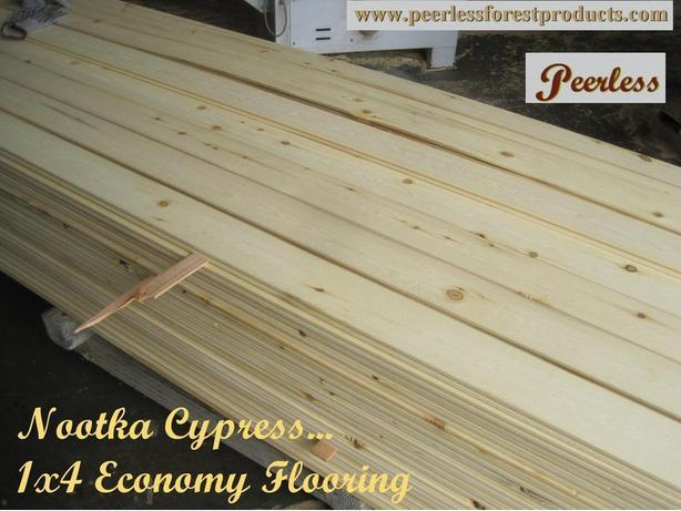 Economy Nootka Cypress-Yellow Cedar Flooring - Seattle, Washington