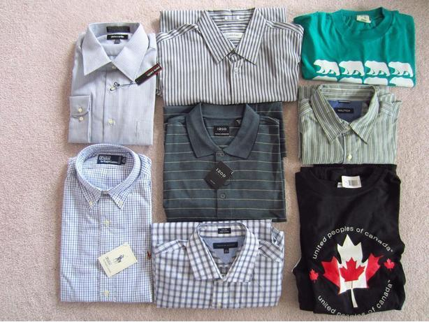 New Men's Shirts: Size Large